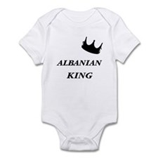 Albanian King Infant Bodysuit