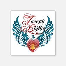 """Logo - Joseph Blythe Band Square Sticker 3"""" x 3"""""""