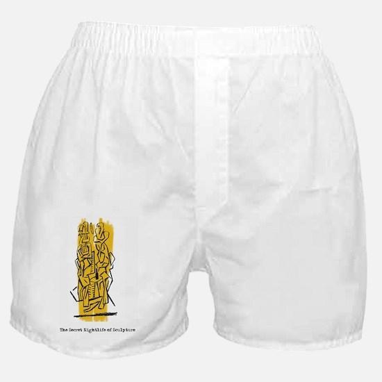 The Secret Nightlife of Sculpture Boxer Shorts