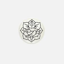 Ganesh Ganesa Ganapati 02_1c Mini Button