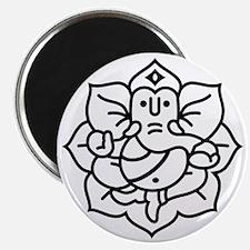Ganesh Ganesa Ganapati 02_1c Magnet
