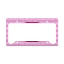 Psalm 19 1 Peony License Plate Holder