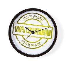 100% Pure Libertarian Wall Clock