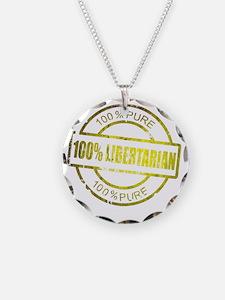 100% Pure Libertarian Necklace