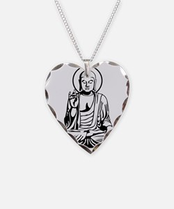 Young Buddha No.1_2c Necklace Heart Charm