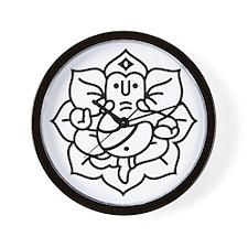 Ganesh Ganesa Ganapati 02_1c Wall Clock