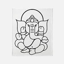 Ganesh Ganesa Ganapati 03_2c Throw Blanket