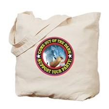 GOP--SUPPORT YOUR PARTY Tote Bag