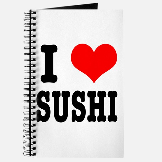 I Heart (Love) Sushi Journal