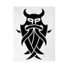 Odin's Mask Tribal Twin Duvet