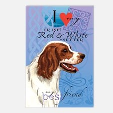 red-white-kindle Postcards (Package of 8)