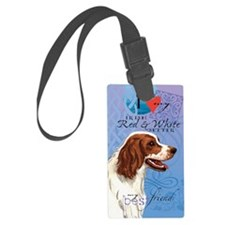 red-white-kindle Luggage Tag