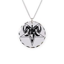 Satanic Goat Head with Penta Necklace