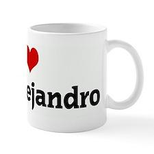 I Love Rene Alejandro Mug