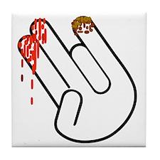 The Shocker Hand Tile Coaster