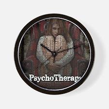 WordPlay PsychoTherapy Wall Clock