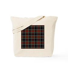 Black Stewart Scottish Clan Tote Bag