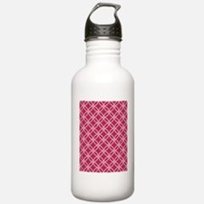 Dotted Circles TD Whit Water Bottle