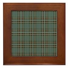 Kelly Dress Scottish Tartan Framed Tile