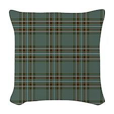 Kelly Dress Scottish Tartan Woven Throw Pillow
