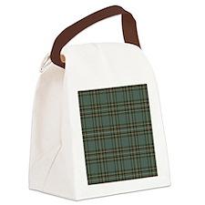 Kelly Dress Scottish Tartan Canvas Lunch Bag