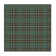 Kelly Dress Scottish Tartan Tile Coaster