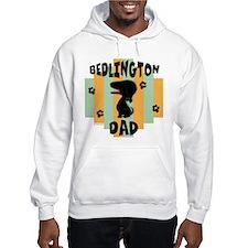 Bedlington Terrier Dad Hoodie