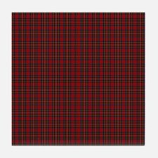 Royal Stewart Scottish Tartan Tile Coaster