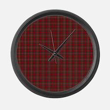 Royal Stewart Scottish Tartan Large Wall Clock