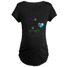 A cat leaves paw prints... T-Shirt
