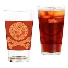 tiki-pirate-613-LG Drinking Glass