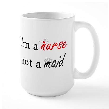 Not A Maid Large Mug