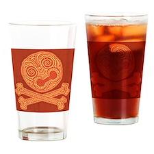 tiki-pirate-613-PLLO Drinking Glass