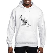 kangaroo trex deer funny tyranno Jumper Hoodie
