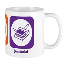 Eat Sleep Janitorial Mug