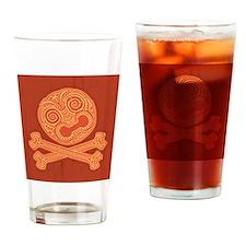 tiki-pirate-613-TIL Drinking Glass