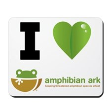 I love Amphibian Ark Mousepad