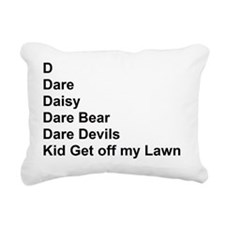 List of Darren's Nicknam Rectangular Canvas Pillow