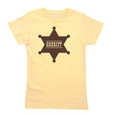 Sheriff's Star Girl's Tee
