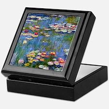 Water Lilies 1916 by Claude Monet Keepsake Box