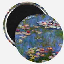 Water Lilies 1916 by Claude Monet Magnet