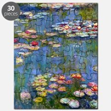 Water Lilies 1916 by Claude Monet Puzzle
