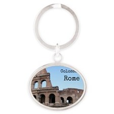 Colosseum Oval Keychain