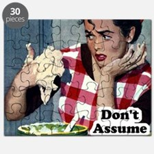 Dont Assume I Cook Puzzle