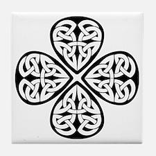 Celtic Clover Tile Coaster
