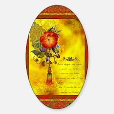 Inspirational India Sticker (Oval)