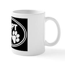 Adopt Dont Shop EURO Oval Mug