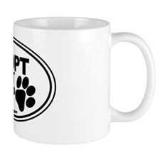Adopt Dont Shop White-01 Mug
