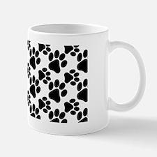 Cute Dog Paws Mug