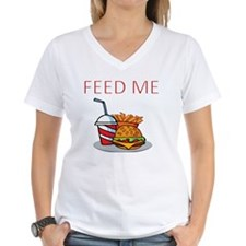 FEED ME WITH BURGER MEAL Shirt